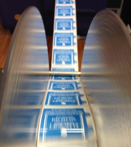 Inhouse label printing